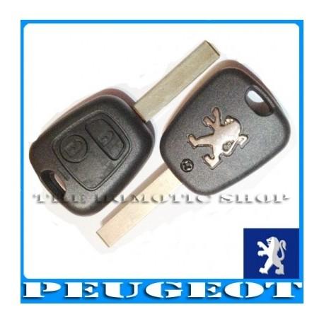 Llave Carcasa para Peugeot 307 - 2 Botones
