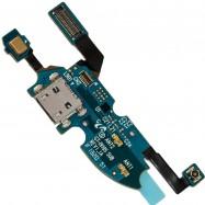 Flex con conector de Carga y Accesorios, Micro USB y micrófono para Samsung Galaxy S4 Mini I9190