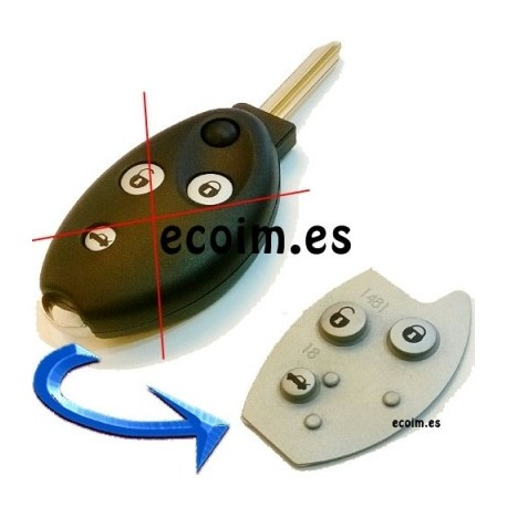 Botonera para Telemandos Citroen C5