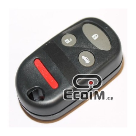 Carcasa llave para Honda Civic de 4 botones / pulsadores.