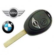 BMW MINI COOPER CARCASA LLAVE DE TELEMADO 2 BOTONES