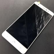 Pantalla completa (LCD/display, ventana táctil y digitalizador) blanca para BQ Aquaris X