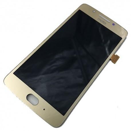 Pantalla Completa LCD + Táctil Lenovo Moto G5, XT1676 Dorada