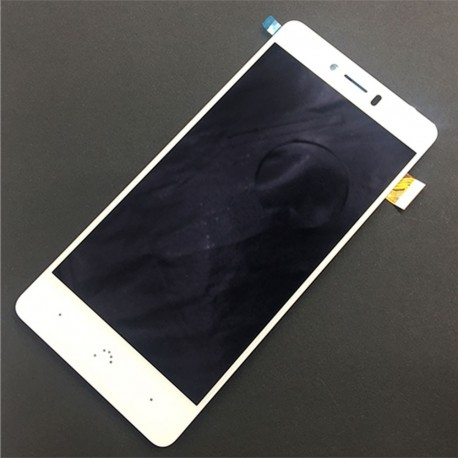 Pantalla Completa LCD + Táctil BQ Aquaris U Plus Blanca