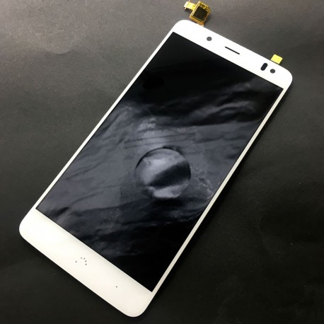 Pantalla Completa LCD + Táctil BQ Aquaris V Plus Blanca