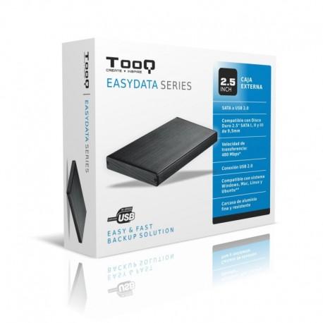 Caja Externa Disco Duro TOOQ EASYDATA SERIES 2.5 INCH  SATA a USB 2.0