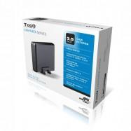 Caja Externa Disco Duro TOOQ EASYDATA SERIES 3.5 INCH SATA a USB 2.0