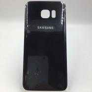 Tapa trasera Tapa bateria para Samsung S7 edge Negra