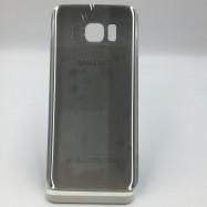 Tapa trasera Tapa bateria para Samsung S7 edge Plata