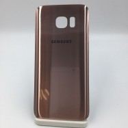 Tapa trasera Tapa bateria para Samsung S7 edge Rosa
