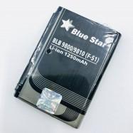 Batería Blue Star de 1250mAh para Blackberry 9800 / 9810 (F-S1)
