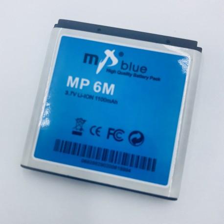 Batería MP Blue de 1100mAh para Nokia MP-6M