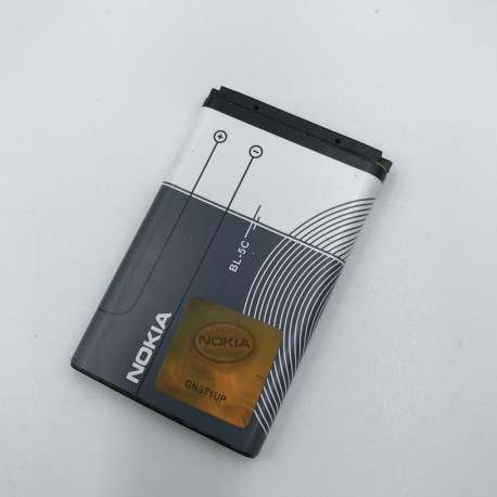 Batería Original BL-5C 1020mAh para Nokia 2100 3200 3300 6220 6610 7210 7250