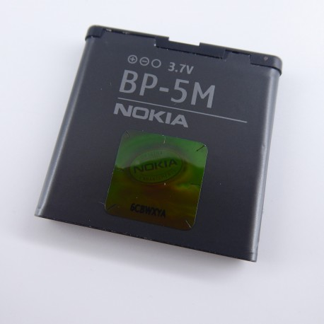 Batería Original BP-5m 900mAh para Nokia 5610 6500 Slide 8600 7390 6110