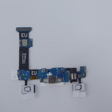 CABLE FLEX CON CONECTOR MICRO USB AUDIO JACK Y TECLADO FRONTAL SAMSUNG S6 EDGE +