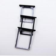 Pack Bandejas de tarjeta SIM y SD para BQ Aquaris E5, Aquaris E6, Aquaris E10 negra.