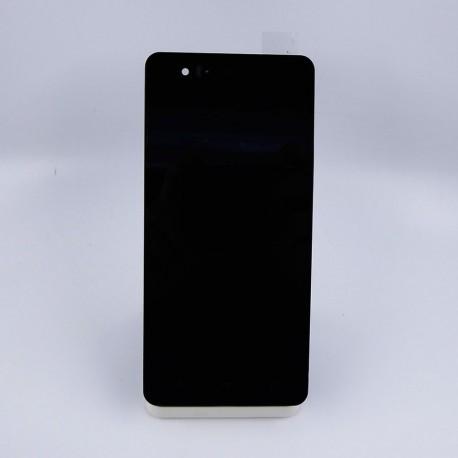 Pantalla Completa LCD + Tactil + MARCO ORIGINAL BQ M5