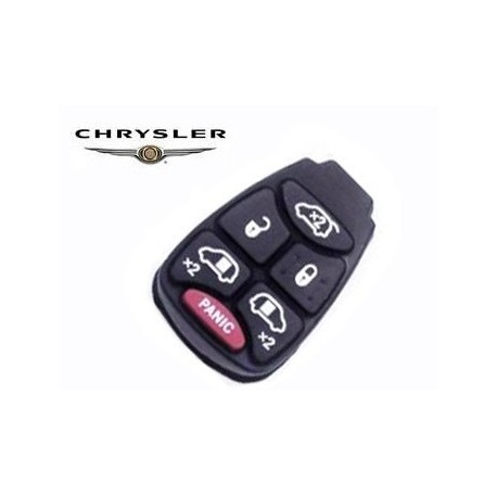 Botonera de Goma para CHRYSLER de 6 botones