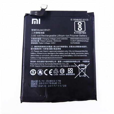 Bateria para Xiaomi Redmi Note 5A Prime