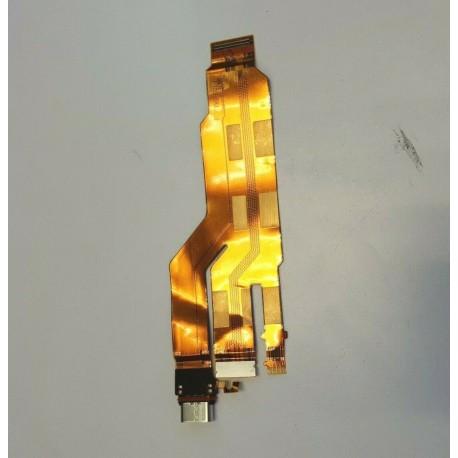 Original Sony Xperia Xz F8331, F8332 Puerto de carga de tipo C-Flex 1306-1487 ✅