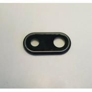 Lente iPhone 8 Plus Camara Trasera Cristal Negro ✅