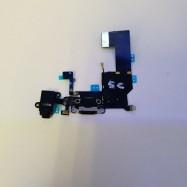 Modulo de Conector de Carga y Microfono para iPhone 5C - Negro ✅