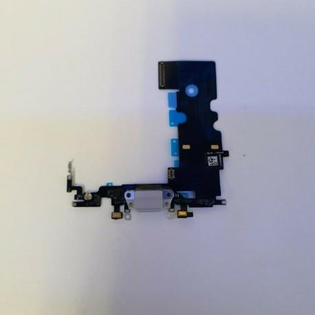 Modulo de Conector de Carga y Microfono para iPhone 8 Plus - Gris ✅