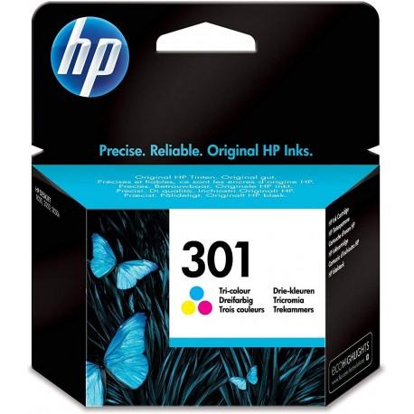 Cartucho de tinta Original 301 HP Tricolor - CH562EE