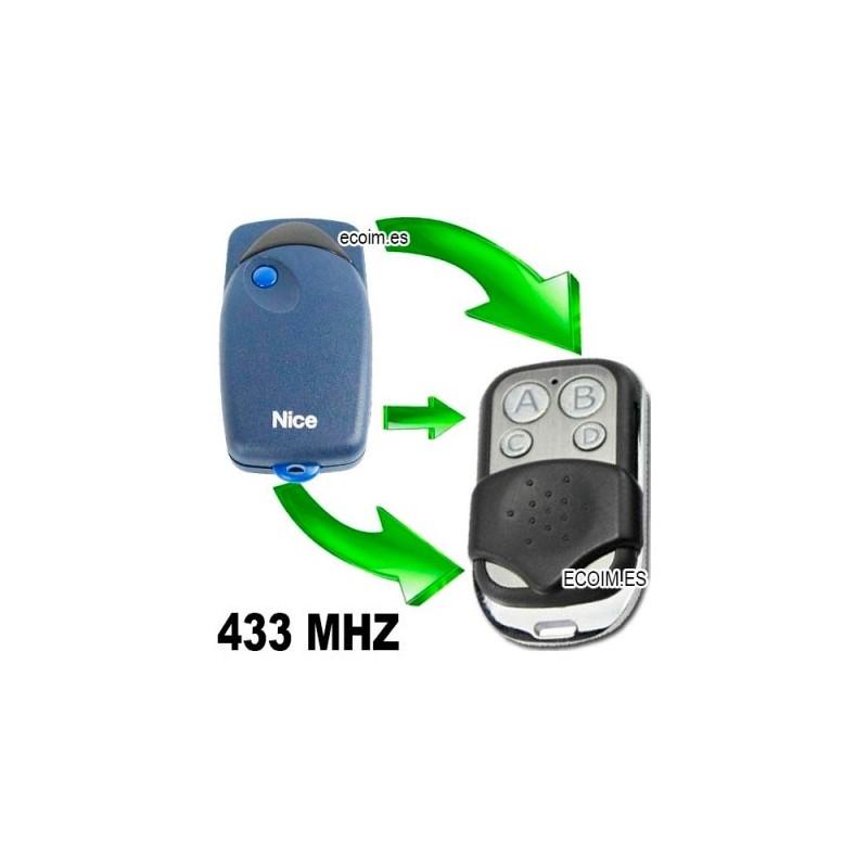 mando de garaje compatible para copiar nice flo1