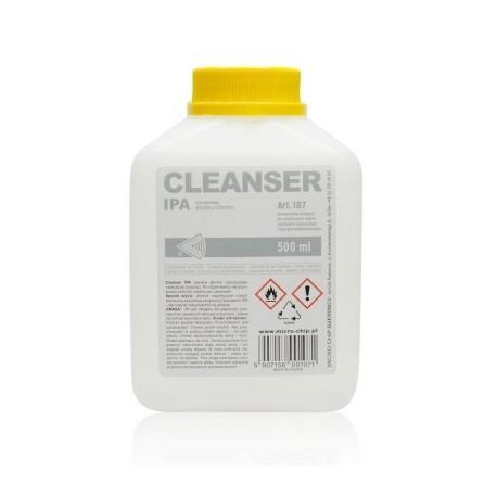 LÍQUIDO ISOPROPANOL CLEANSER IPA 0,5L, Para Limpieza De Componentes Electronicos