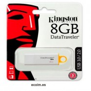 Lápiz Usb Memoria de 8gb Kingston Pendrive 2.0/3.0