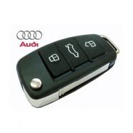 Carcasa de llave telem para AUDI A8, A6, A4, A3 y T T