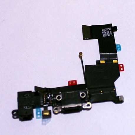 Conector Flex Dock De Carga IPhone 5S USB Jack Auriculares
