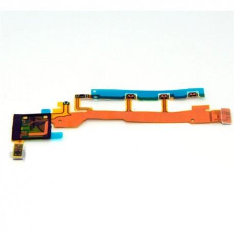 Conector Flex Encendido Power Volumen + Micro Sony Xperia Z  / C6602 / L36H