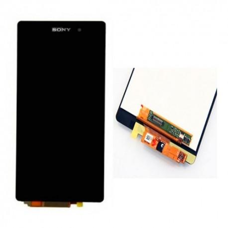 Pantalla Completa Sin Marco Sony Xperia Z2 / D6502 / Digitalizador + LCD / Negra