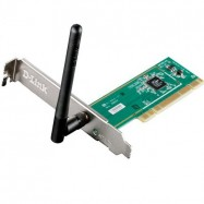 Adaptador Desktop PCI Wireless N 150 para PC / DWA-525