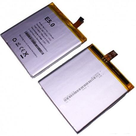 Bateria para BQ E5 2500 mAh respuesto pila interna