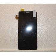 Pantalla completa (LCD/display + digitalizador/táctil) para Nero Cubot S208, negra.