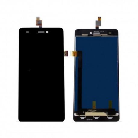 Pantalla Completa LCD + Táctil para Wiko Highway Signs Negro