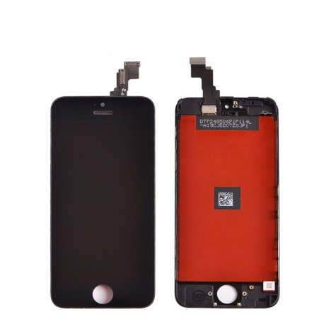 Pantalla Completa LCD + Táctil iPhone 5c Frontal Completo Negro