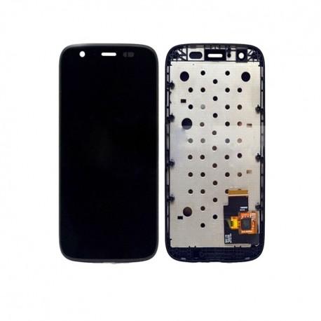 Pantalla Completa LCD + Táctil con marco para Motorola Moto G Negra XT1032 XT1033