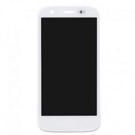 Pantalla Completa LCD + Táctil con marco para Motorola Moto G Blanca XT1032 XT1033