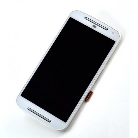 Pantalla Completa LCD + Táctil para Motorola Moto G2 Blanca XT1063 XT1068