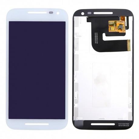 Pantalla Completa LCD + Táctil para Motorola Moto G3 Blanca 3ª Gen XT1540 XT1541