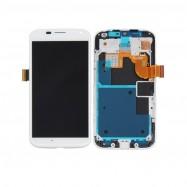 Pantalla Completa LCD + Táctil con marco para Motorola Moto X Blanca XT1058 XT1060