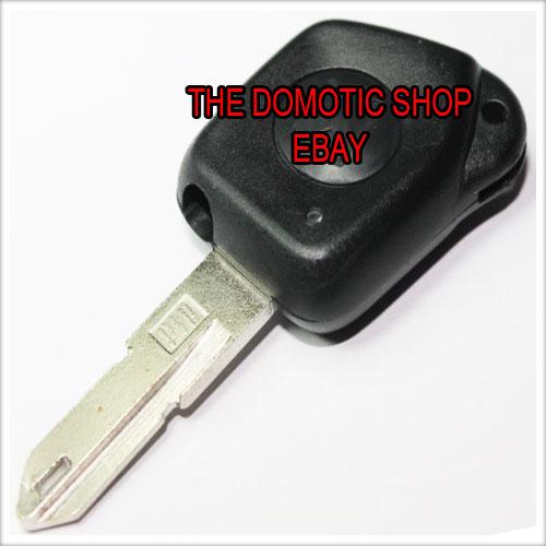 plip coque peugeot cle clef 106 206 306 406 405 1 bouton telecommande ebay. Black Bedroom Furniture Sets. Home Design Ideas
